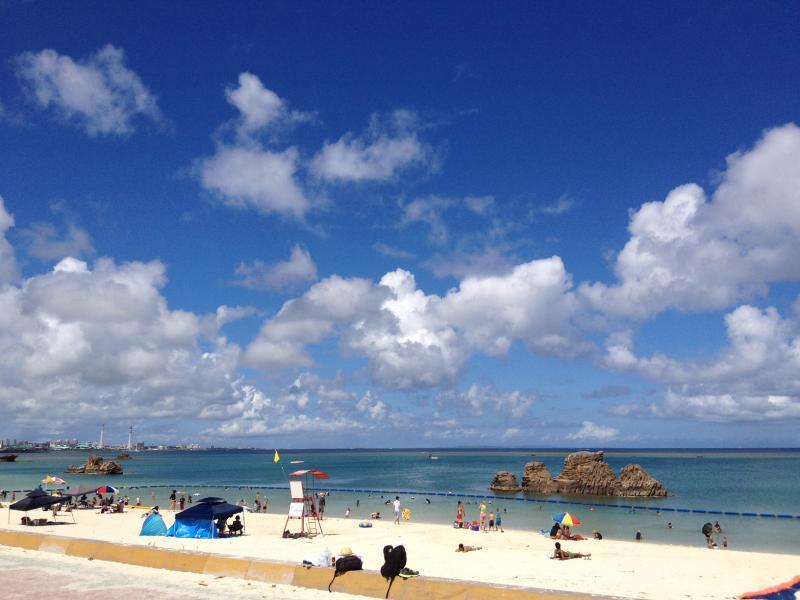 宜野湾海浜公園のビーチ