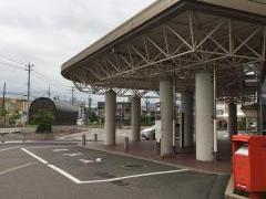 「総合病院東口」バス停留所