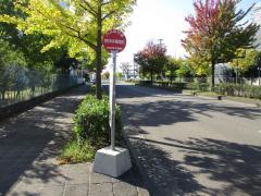 「若林体育館前」バス停留所