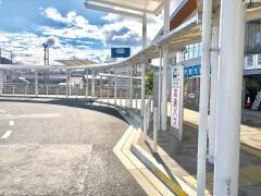「三次駅」バス停留所