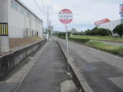 「美濃輪池」バス停留所