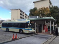 「井高野車庫前」バス停留所
