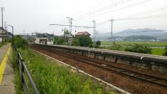 松江イングリッシュガーデン前