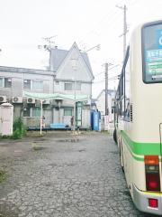 「住道矢田」バス停留所