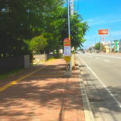 「前田8条10丁目」バス停留所