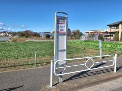 「西砂小学校」バス停留所