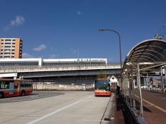 「伊川谷駅」バス停留所