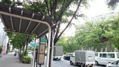 「合羽坂下」バス停留所