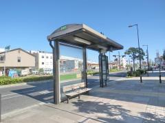 「北津守四丁目」バス停留所