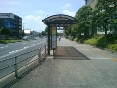 「ハーモニープラザ」バス停留所