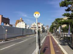 「県庁」バス停留所