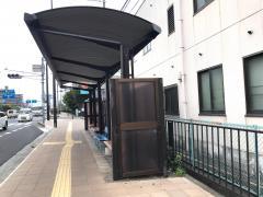 「大津市民病院」バス停留所