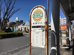 「熊谷駅南口」バス停留所