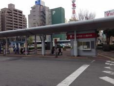 「徳島駅前」バス停留所