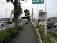 「松の本インター口」バス停留所