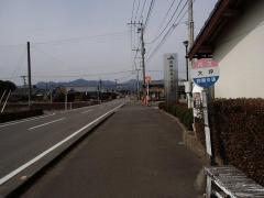 「大坪」バス停留所