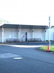「成人病センター」バス停留所