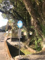「木倉」バス停留所
