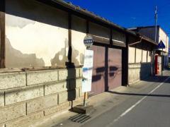 「古関屋前」バス停留所