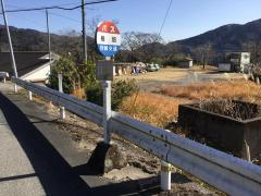 「椎畑」バス停留所