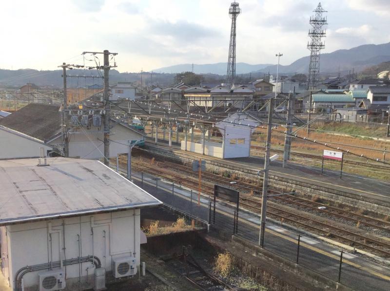 JR和歌山線 五条駅