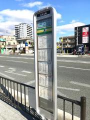 「霊松寺」バス停留所