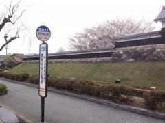 「勝竜寺城公園前」バス停留所