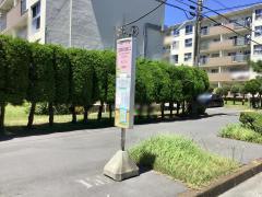 「辻堂海浜公園入口」バス停留所