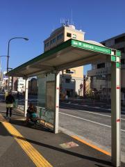「信濃町駅前」バス停留所