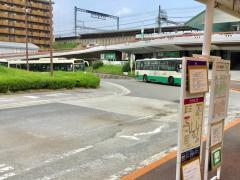「東生駒駅」バス停留所