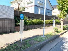 「木刈中央公園」バス停留所