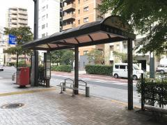 「新川二丁目(東側)」バス停留所