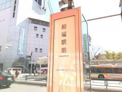「船堀駅前」バス停留所