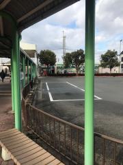 「京阪八幡」バス停留所