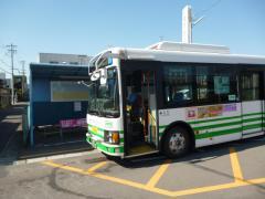「市役所前駅」バス停留所