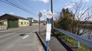 「住吉神社前」バス停留所