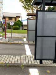 「笠間駅前」バス停留所