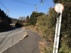 「湯原」バス停留所