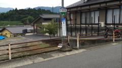 「一中前」バス停留所