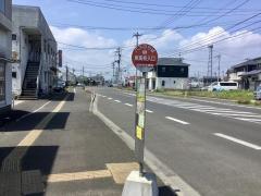 「東高校入口」バス停留所