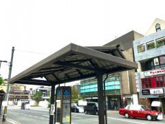 「三条京阪前」バス停留所