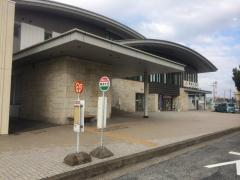 「美濃太田駅」バス停留所