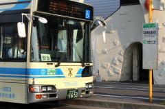 「喜連西住道矢田」バス停留所