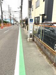 「金岡町」バス停留所