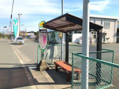 「JA袖浦支店」バス停留所
