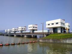 琵琶湖大同川水門