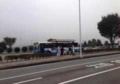 「免許センター」バス停留所