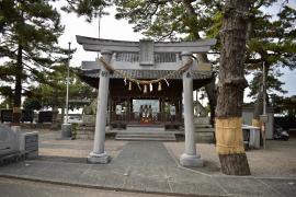 八百富神社(竹島弁天)