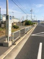 「堺浜南」バス停留所