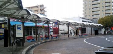 「守山駅」バス停留所
